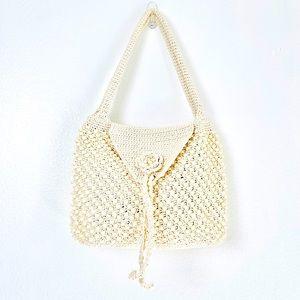 Vintage Gaymode Crochet Retro Purse